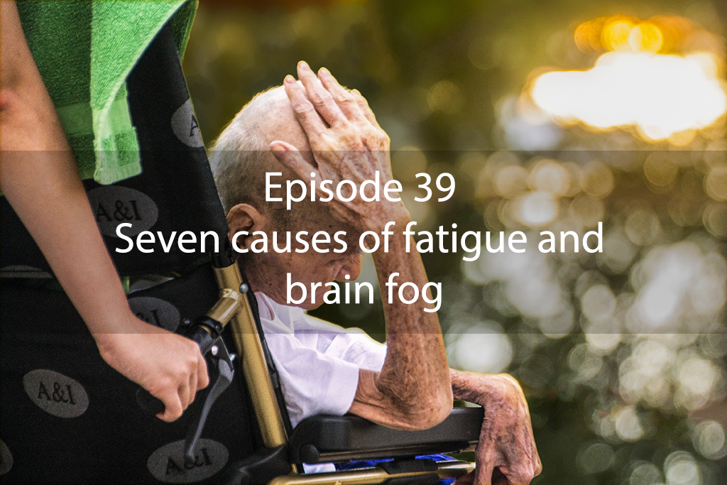 Ask Dr Kan Show – Episode 39 – Seven causes of fatigue and brain fog
